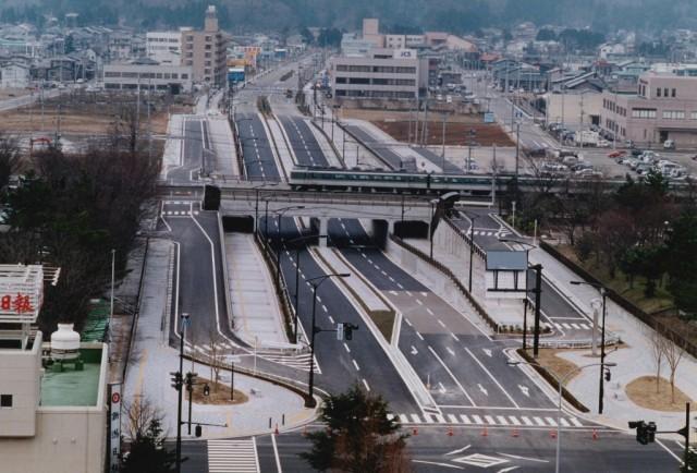 都市計画道路築造工事(春日山区画整理事業)