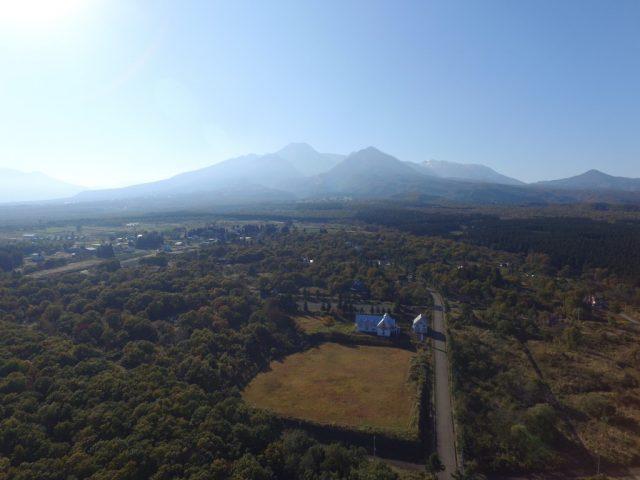関山から眺める妙高山